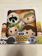Tsum Tsum STAR WARS COLLECTOR Set Luke Skywalker Han Solo Princess Leia Trooper