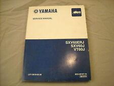 2004 Yamaha Service Manual SXV600 VT600