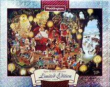 Waddingtons Santas Grotto 1000 piece 1996 christmas jigsaw puzzle