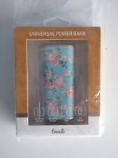 Trendz 4000 mAh Universal Power bank - Vintage Floral