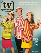 6/18/67 BOSTON TV - Monty Hall, Tammy Grimes, Eva Gabor, Myrna Loy, Ida Lupino