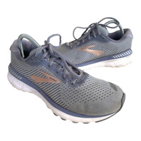 Brooks Adrenaline GTS 20  Womens Size 10 Gray Gold Running Shoes Sneaker