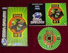 SEGA SATURN - SEGA WORLDWIDE SOCCER 97! CLASSIC FOOTBALL GAME COMPLETE PAL RETRO