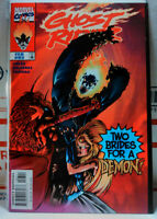 GHOST RIDER #93 SCARCE FINAL ISSUE vf- MARVEL COMICS 1990 2nd Series HTF 94