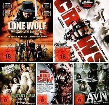 Lone Wolf, Crows 2, Mutant Girl Squad, Jig Saw, Alien vs. Ninja - 5x Blu-ray NEU
