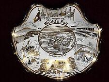 "Expo '74 World's Fair Spokane WA USA Souvenir 7.5"" Vintage Decorative Glass Bowl"