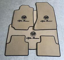 Autoteppich Fußmatten Kofferraum Set für Alfa Romeo 159 Sportwagon Beige Vel 5tl