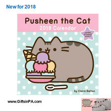Pusheen The Cat 2018 Wall Calendar *NEW*