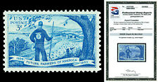 Scott 1024 1953 3c Future Farmers Issue Mint Graded Superb 98 NH with PSE CERT