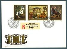 "LIECHTENSTEIN - 1978 - Quadri raffiguranti cavalli e ""la carrozza d'oro"" - (MR)"