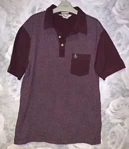 Men's Penguin Polo Shirt - Size Medium - Slim Fit