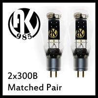 Matched Pair 300B Vacuum Tube HIFI Amp JJ Tesla AK985 Psvane Mullard WE EH 300B