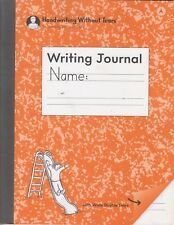 Handwriting Without Tears Writing Journal with Wide Double Lines Pack of 5