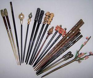 Vintage Kanzashi Hair Sticks