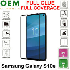 Full Coverage Samsung Galaxy S10e Tempered Glass 9D Curved Screen Protector New