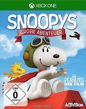 Snoopys Große Abenteuer für XBOX ONE   NEUWARE   KOMPLETT IN DEUTSCH!