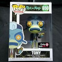 FUNKO Pop! Rick and Morty Tony GameStop Exclusive  #650 New Pop