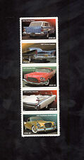 4353-57 Fins & Chromes Strip Of 5 Mint/nh (Free shipping offer)