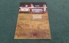 October 1972 / 1973 FIAT 128 SPORT COUPE 1100 SL & 1300 SL - UK BROCHURE