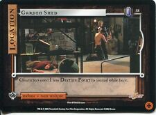 Buffy TVS CCG Limited Class Of 99 Common Card #11 Garden Shed