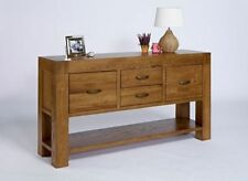 Oak Rustic Rectangle Side & End Tables