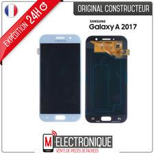 Ecran LCD Bleu Original Samsung Galaxy A5 2017 SM-A520F + adhésif