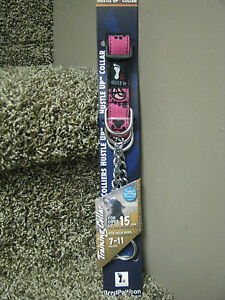 Hustle Up Training Dog Collar for dogs up to 15#-Pink-NEW!!