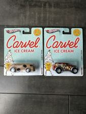 Hot Wheels Carvel Ice Cream (2) Car Lot Real Riders 2011 Power Panel Haulin Gas