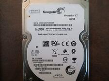 "Seagate ST95005620AS 9UZ154-285 FW:SD22 WU 500gb 2.5"" Sata Hard Drive"
