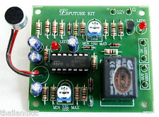Sound Switch Controller Delay Time Off Relay 12VDC 10A  Assembled Kit  [ FA408 ]
