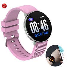 Bluetooth Smart Watch Heart Rate Watch For Women Girls Samsung Note 8 9 S10 S9+