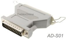 DB25 Male to CN50 Female SCSI Adapter, CablesOnline AD-S01