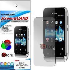 5 Pellicole Per Sony Xperia Tipo e Tipo Dual Proteggi Salva Schermo Pellicola