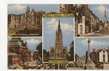 Greetings from Grantham 1969 Postcard, A605