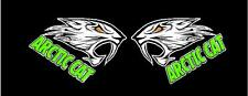 Arctic Cat Decal #4 for your Truck Bidding on a PAIR!! Sticker Vinyl Snowmobile