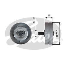 Aux Belt Idler Pulley T36182 Gates Guide Deflection 38940PLZD00 1854421 6854427