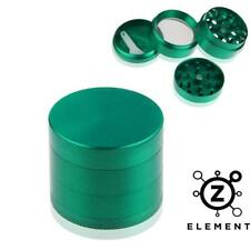 40mm Green Metal Aluminium Hand Grinder 4 Part Tobacco Herb Crusher Muller IE