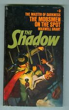 The Shadow #3 The Master of Darkness The Mobsmen on the Spot 1974 VG