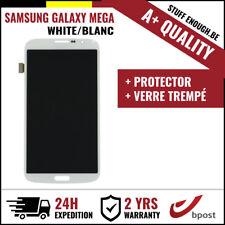 A+ LCD SCREEN/SCHERM/ÉCRAN WHITE + SCREEN GUARD FOR SAMSUNG GALAXY MEGA 6.3