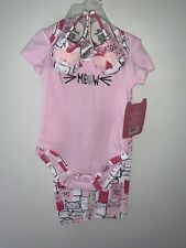 Nwt Little Beginnings 3pc Outfit Sz 6/9mo