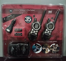 Motorola Mr351R 22 Channel 2-Way Radios New In Package - Unopened