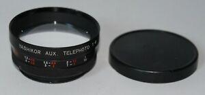 Yashica Yashikor Auxiliary Telephoto 1:4 Lens - 55mm Screw Mount - Caps