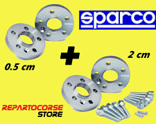DISTANZIALI SPARCO 5 + 20 mm - MINI COUPE R58 - ROADSTER R59 - ONE - COOPER - S