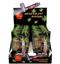 Metal Pipe Jamaica Rasta Tobacco Smoking Pipe