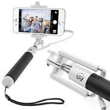 Selfie Stick Stange Selbstauslöser IOS Android Monopod Stange Stativ schwarz