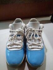 Nike Air Jordan 11 Low Retro UNC 528895 106 Size 9.5