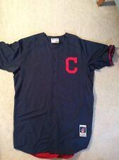 Cleveland Indians Authentics:2014 Game Worn Spring Train Jersey Masterson sz 54