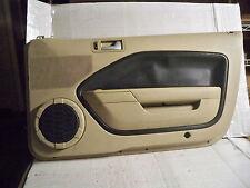 05-09 MUSTANG GT TAN RIGHT PASSENGER FRONT INTERIOR DOOR TRIM PANEL MM028