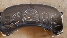 99-02 CHEVY SILVERADO 2500 Speedometer Instrument Gauge Cluster Assy 167K