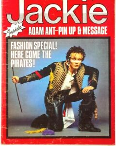 Adam Ant Bow Wow Vivienne Westwood Duran Kim Wilde Tim Hutton JACKIE MAGAZINE UK